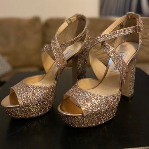 Jimmy Choo Glitter heels size 41